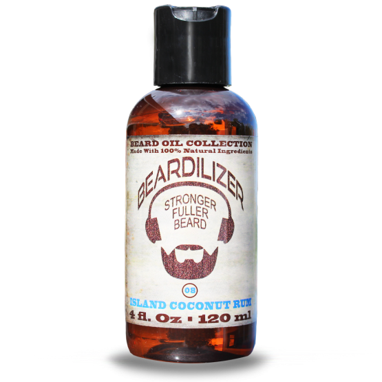 Island Coconut Rum beard oil