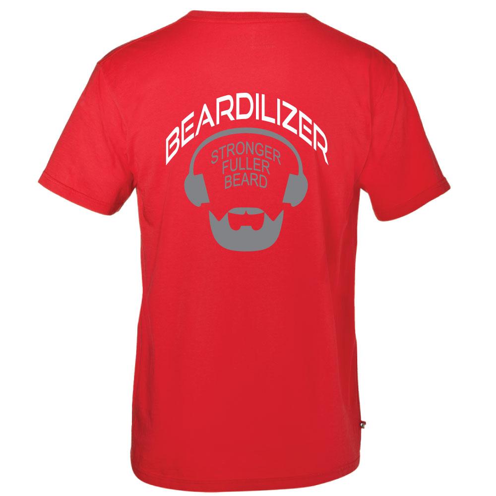 4fc230398 Buy Red Beardilizer T-shirt for Men   Beardilizer