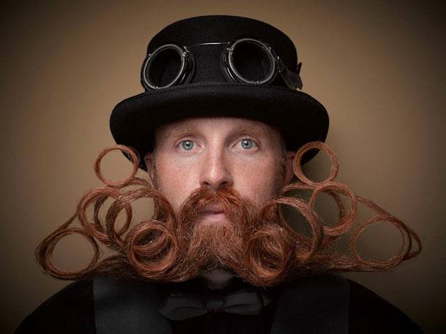 peak beard