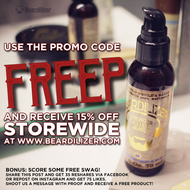free beard products